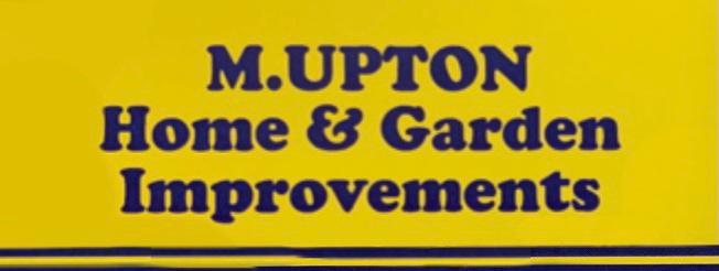 M Upton Home & Garden Improvements logo