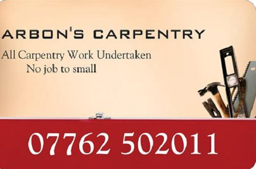 Arbons Carpentry logo