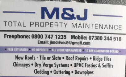 M&J Total Property Maintenance logo