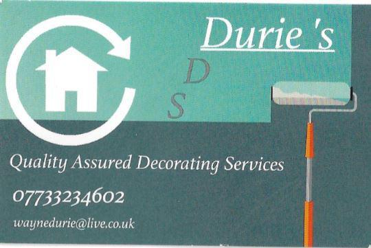 Durie's Decorating Services logo