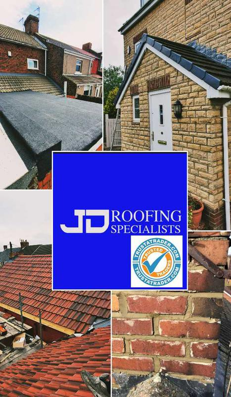 JD Roofing Specialist logo