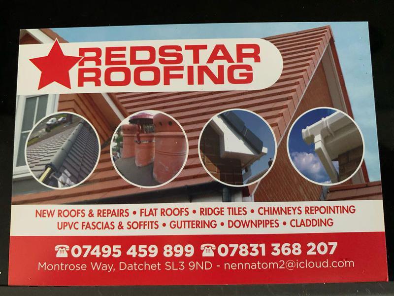 Redstar Roofing logo