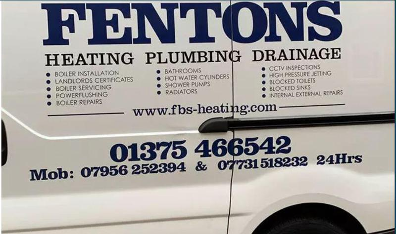 Fentons Building Services logo