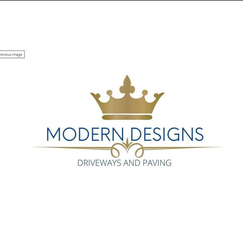 Modern Designs Driveways & Paving logo