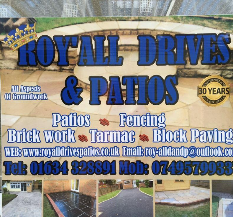 Roy-All Drives and Patios logo