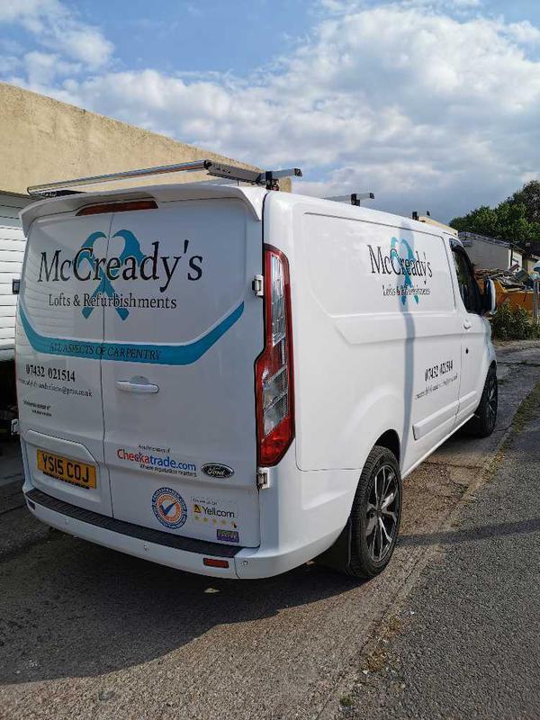 McCready's Loft's and Refurbishments logo