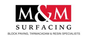 M&M Surfacing logo