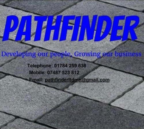 Pathfinder Paving & Landscaping logo
