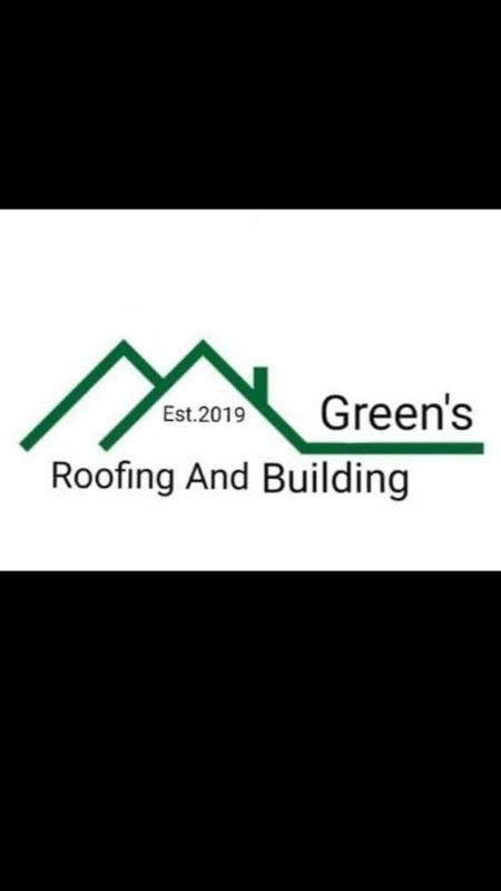 Green's Roofing and Building Contractors logo