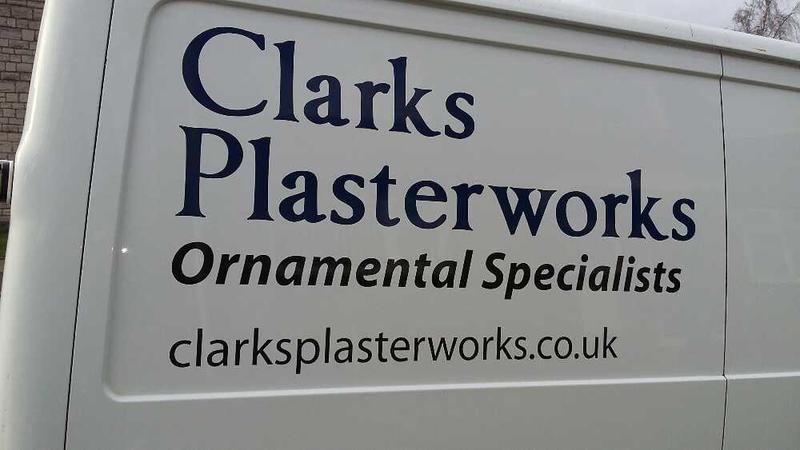 Clarks Plasterworks logo