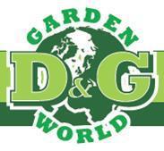 D&G Garden World logo
