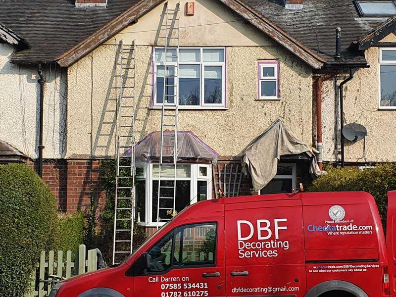 DBF Decorating Services logo