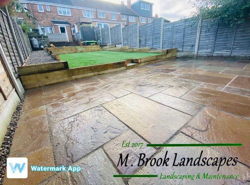 M Brook Landscapes logo