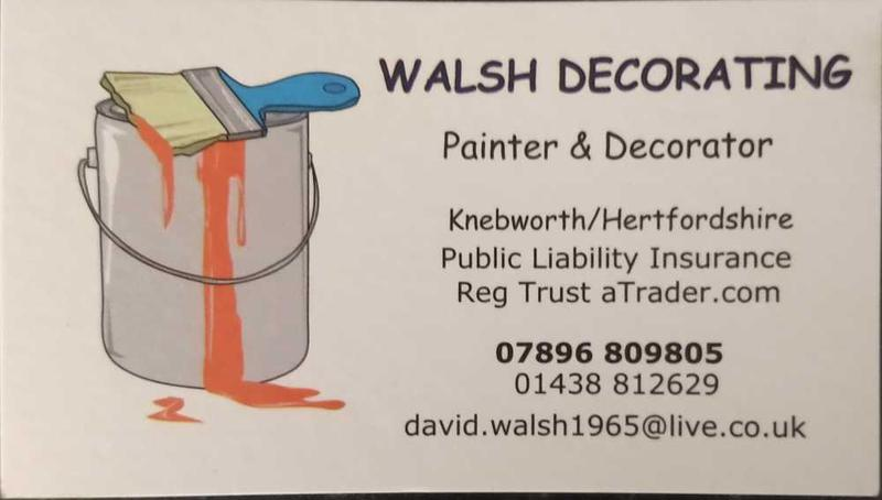 Walsh Decorating logo