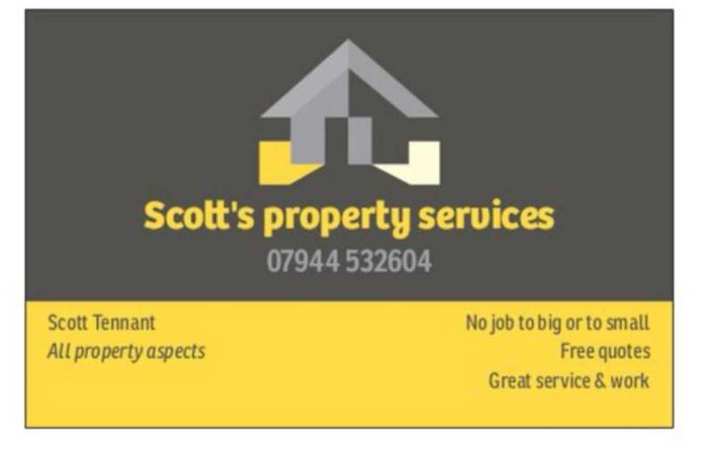 Scott's Property Services logo