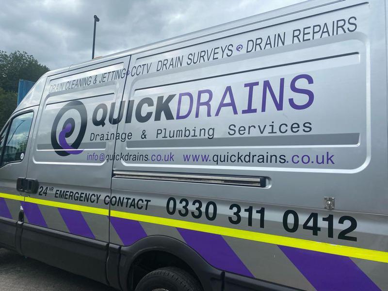 Quick Drains & Plumbing Services logo