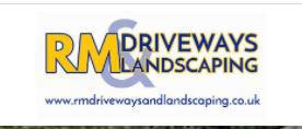 RM Driveways & Landscaping logo