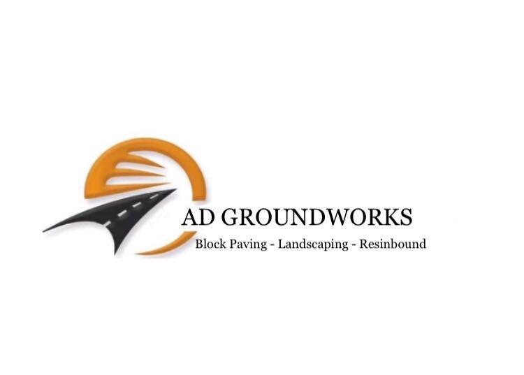 AD Groundworks logo