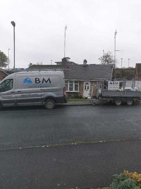 BM Home Improvements & Roofing logo