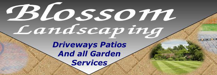 Blossom Landscaping And Driveways logo