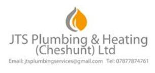 JTS Plumbing & Heating (Cheshunt) Ltd logo