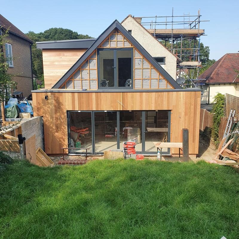 Image 3 - rear extension to house in loughton