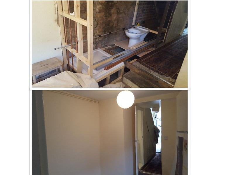 Image 62 - Addition of toilet and shower to replace an under stair cupboard