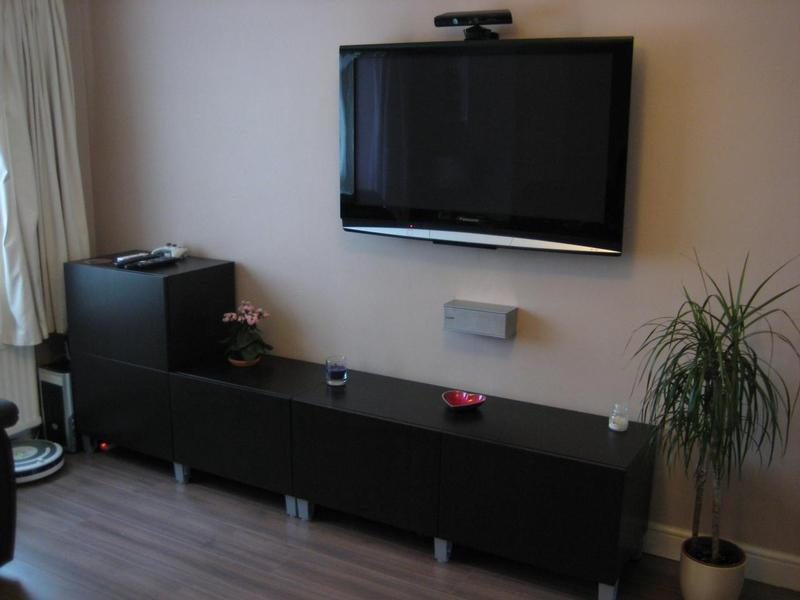 Image 18 - Install TV and speaker system