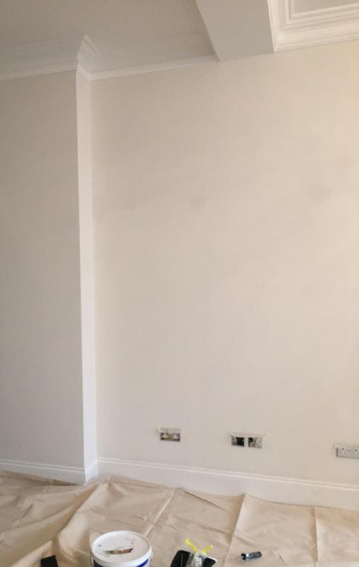 Image 4 - Prepping Lounge Wall