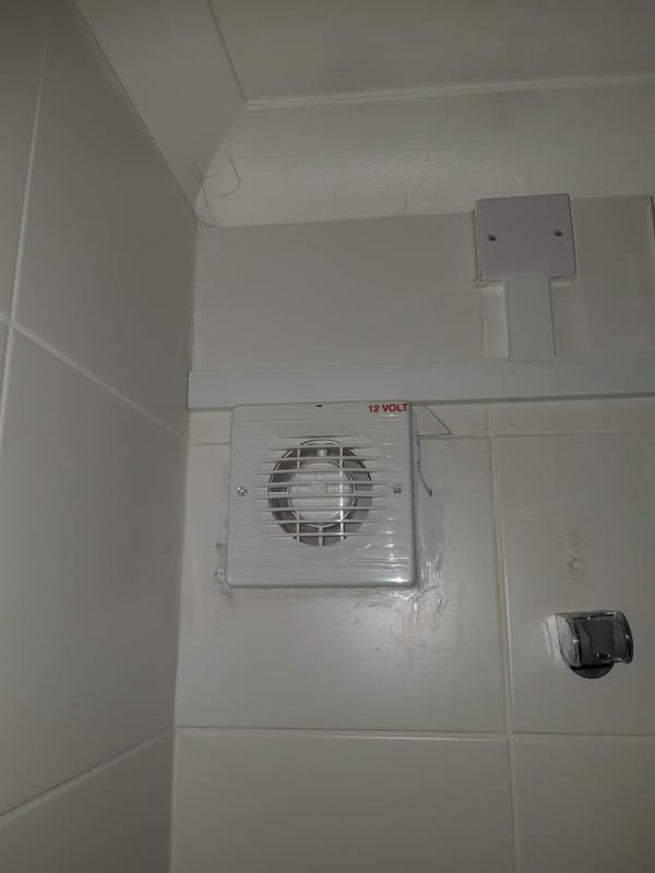 Image 2 - Low voltage extractor fan over bath