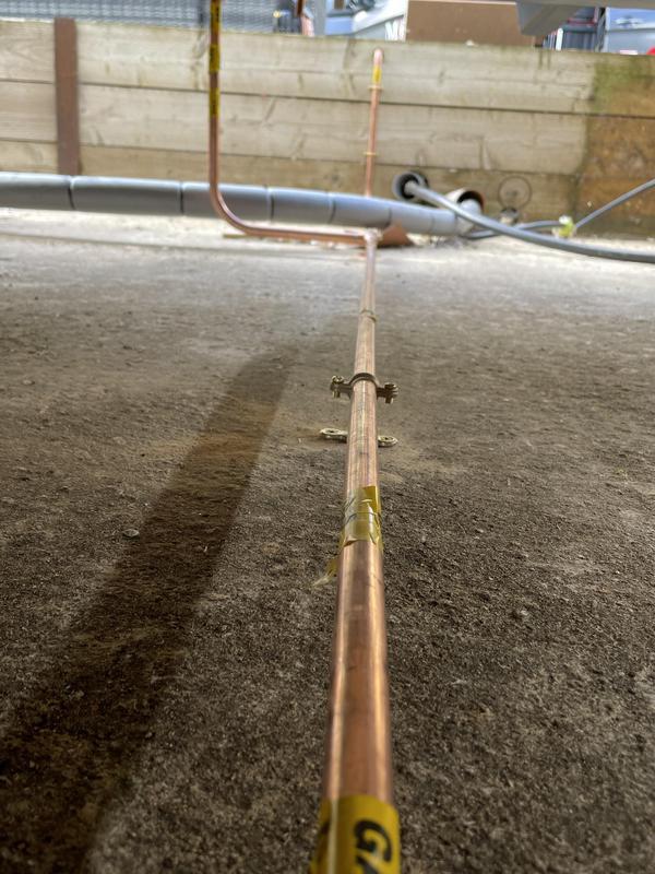 Image 11 - New LPG Gas Installation, Langtoft Lakes