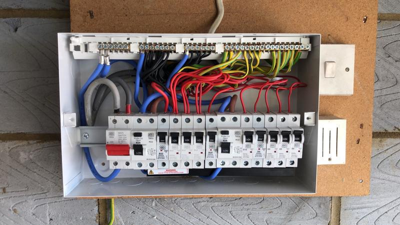 Image 5 - During Installation of Consumer Unit