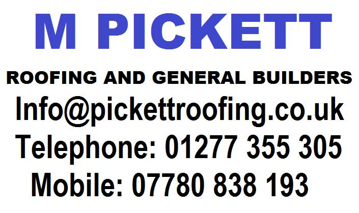 M Pickett Roofing logo