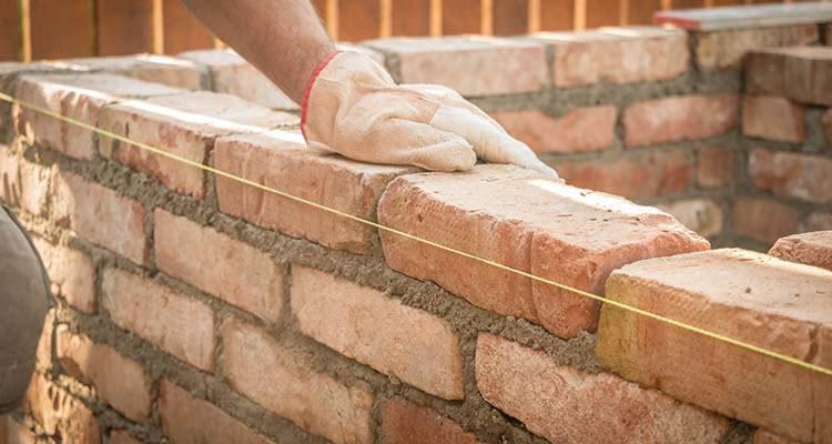 Image 146 - Brick wall construction
