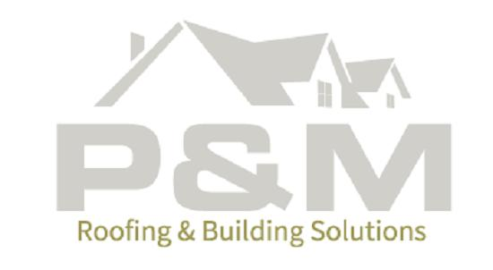 P&M Roofing & Building Solutions logo