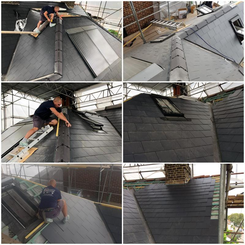 Image 12 - New Marley Eternit Slate Roof With A Ten Year Insurance Back Guarantee. New RoofsAnd Roof Repairs