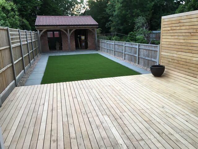 Image 20 - Finished garden