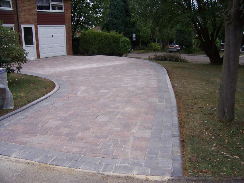 Image 4 - Marshalls paving on swept driveway