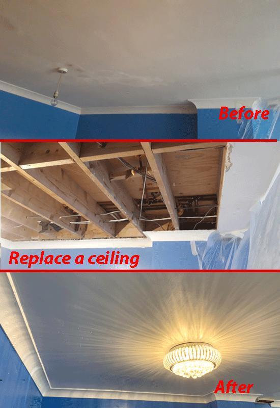 Image 3 - Change living room ceiling