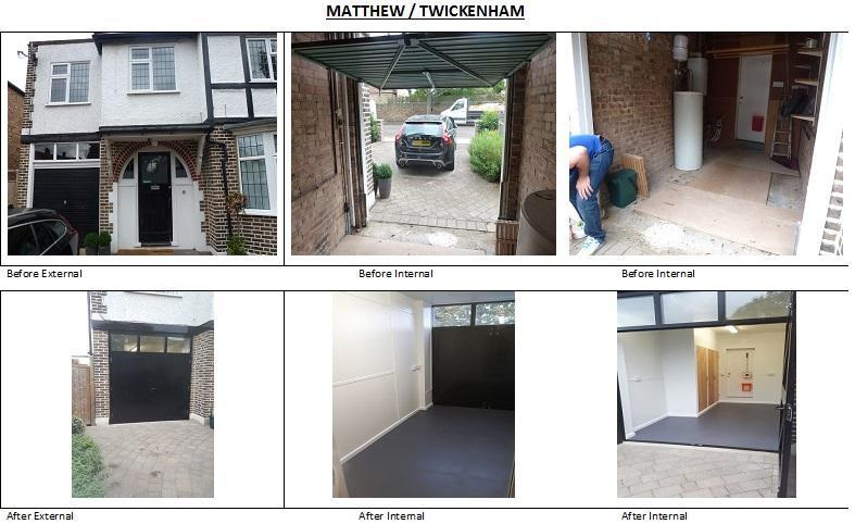 Image 14 - Matthew - Twickenham Before and After