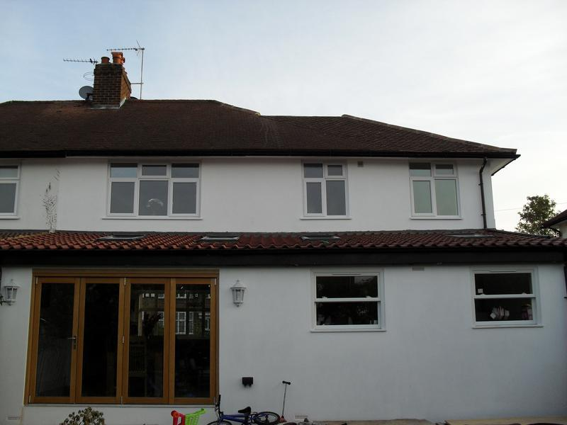 Image 35 - Rear extension after