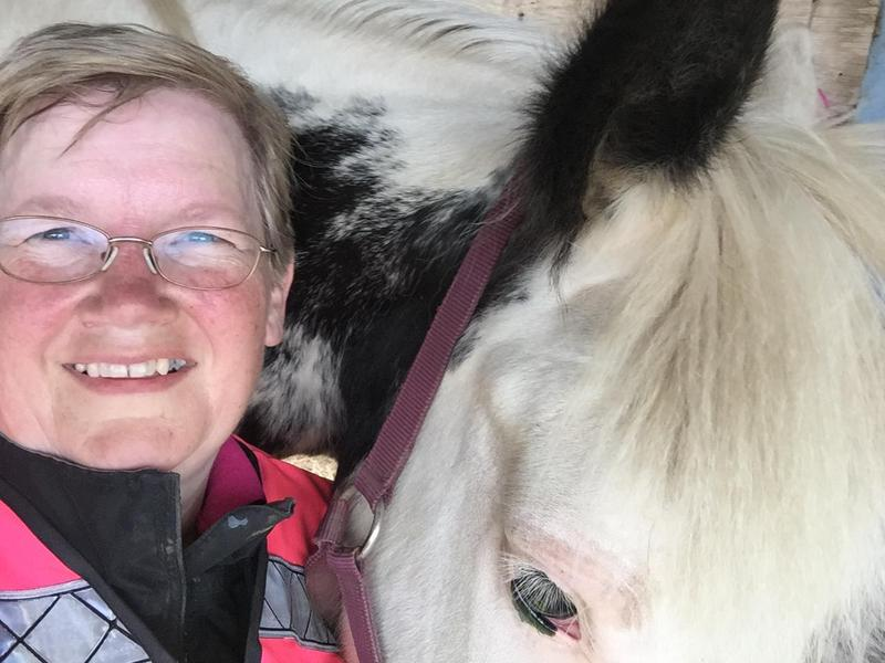 Image 2 - With one of my own horses.