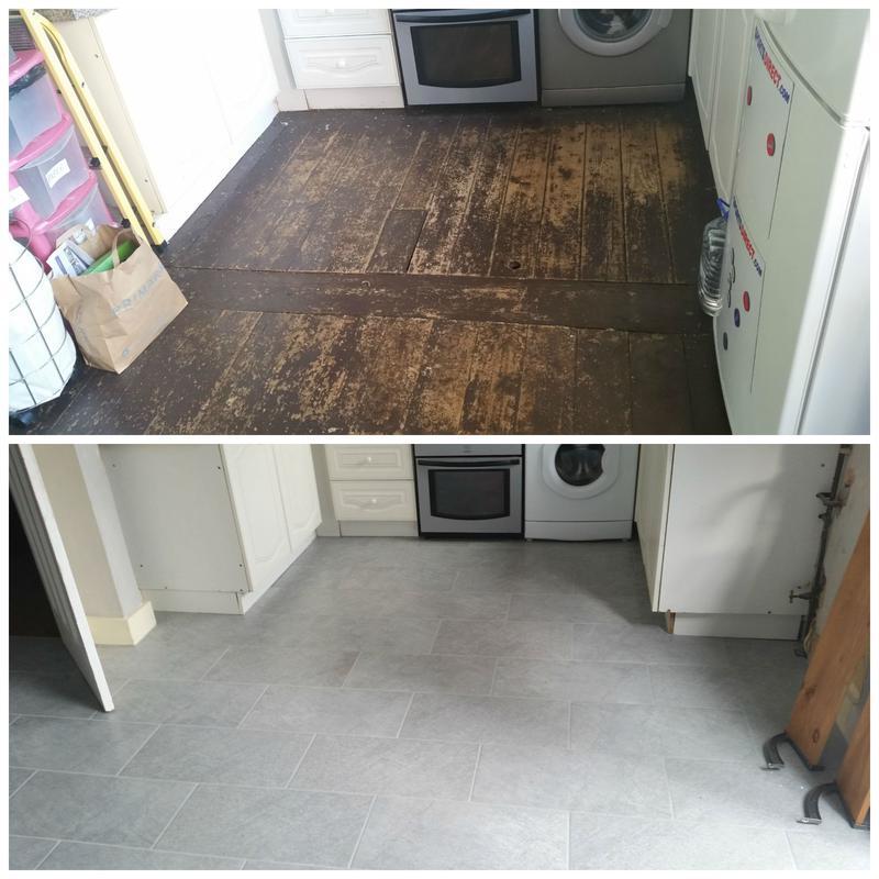 Image 16 - Difficult floor tiling including underfloor heating.