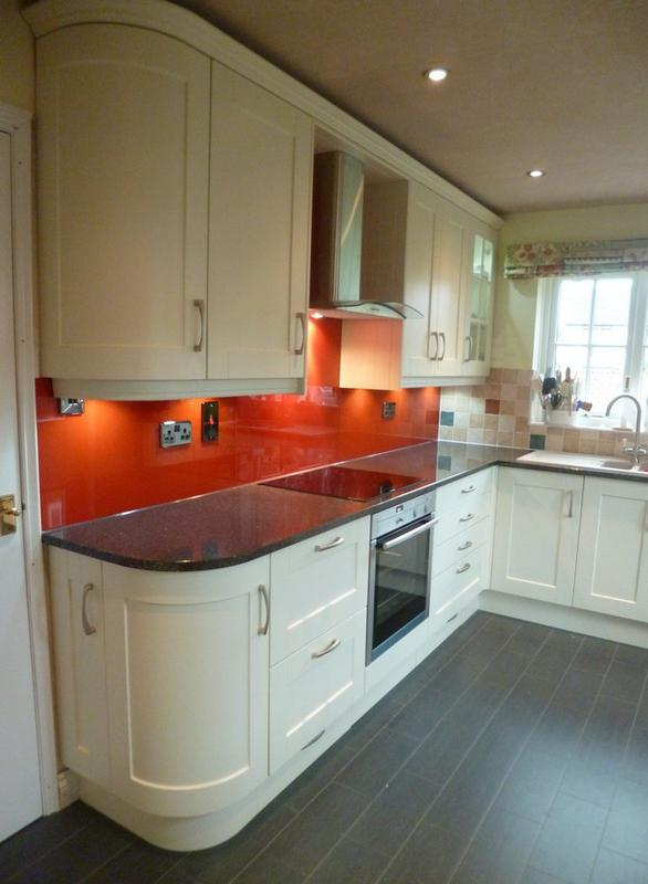 Image 6 - Oyster shaker, quartz top, glass splashback, new ceiling with downlights.