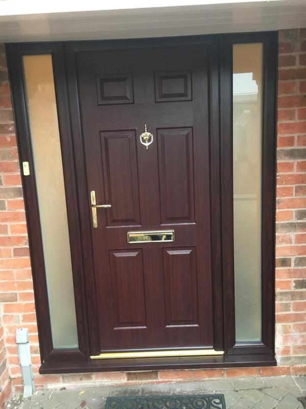Image 1 - Solidor Front Door & Side Panels, Hemmington, Derbyshire