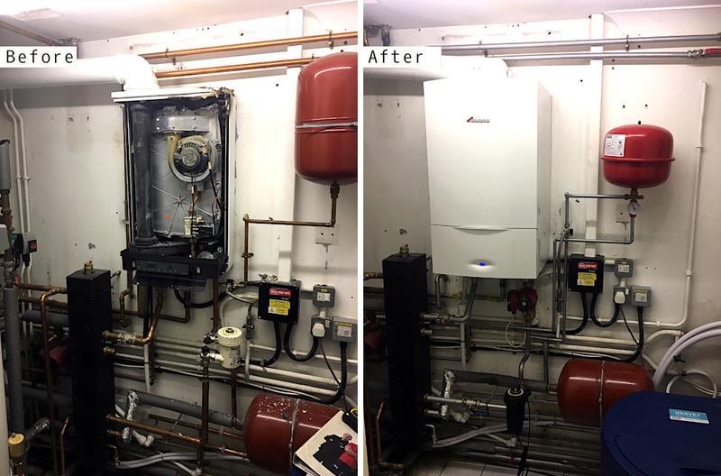Image 21 - Worcester Bosch 40kw boiler