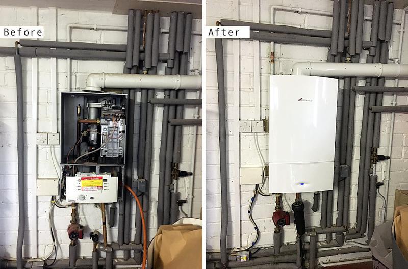 Image 23 - Worcester Bosch 40kw boiler
