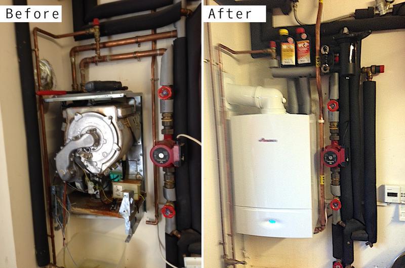 Image 30 - Worcester Bosch 30kw boiler