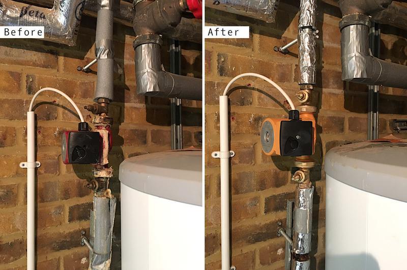 Image 62 - Grundfoss 15-60 Brass Secondary Return Hot Water Pump