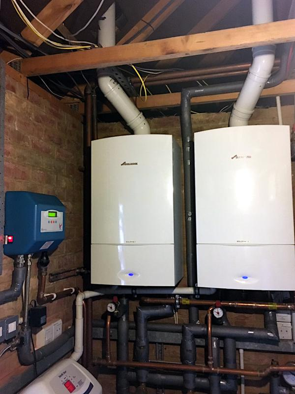 Image 66 - 2x Worcester Bosch 40kw CDI Classic Boilers